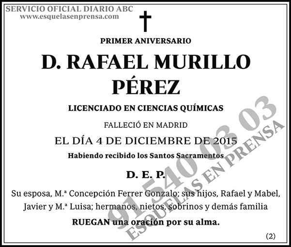Rafael Murillo Pérez